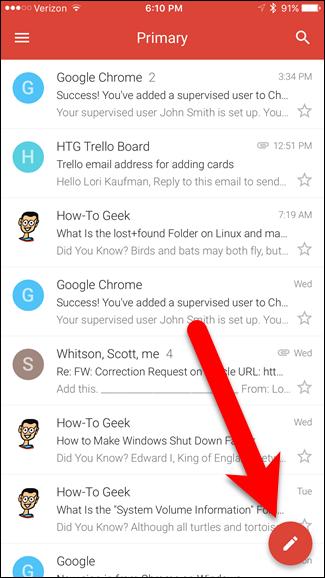 Como desfazer o envio de uma mensagem no aplicativo Gmail ...