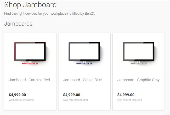 Compre o Jamboard.
