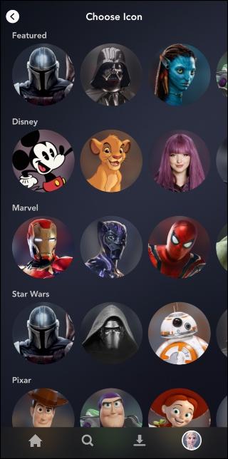 Disney + Biblioteca de Imagens