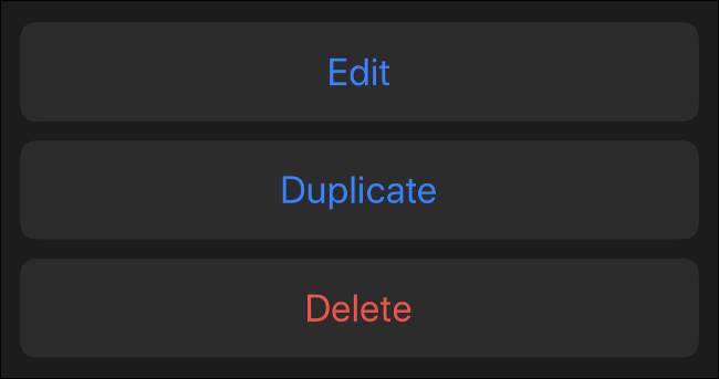 Editar, duplicar ou excluir memoji existente