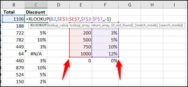 Corrija o erro expandindo o intervalo usado