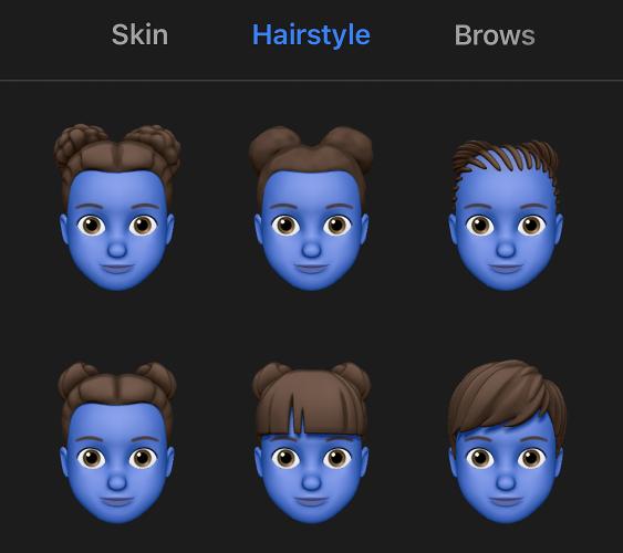 Criação de um Memoji no iOS 13