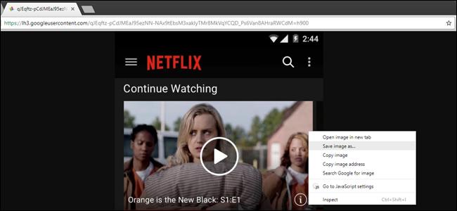 Salvar a versão JPEG ou PNG de uma imagem WebP no Chrome