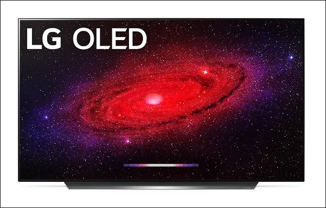 LG CX OLED 2020 TV principal