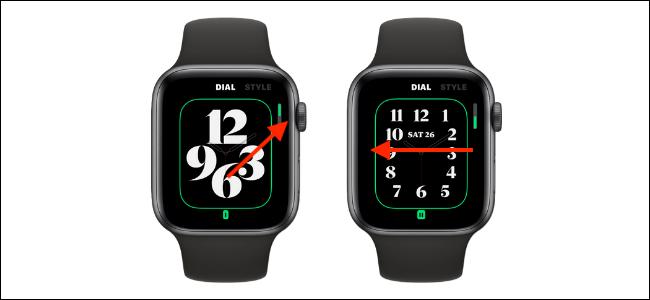 Personalizar discagem para mostrador do relógio
