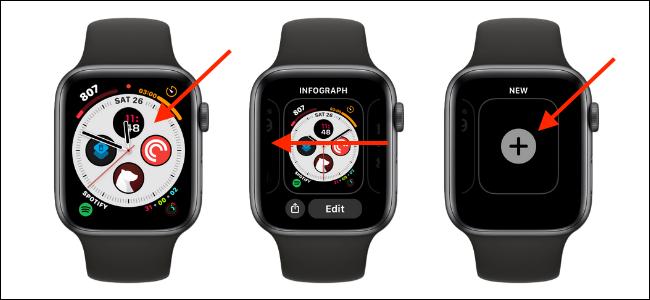Como adicionar um novo mostrador ao Apple Watch