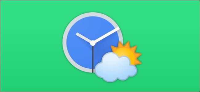 ícone do Google Clock Weather