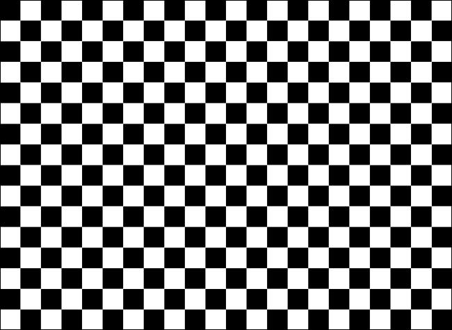 Um plano de fundo em estilo tabuleiro de xadrez de quadrados pretos e brancos.