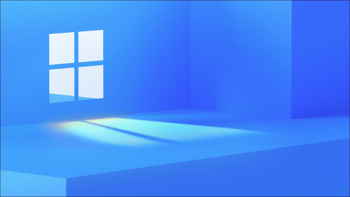 Imagem teaser do Windows 11 da Microsoft.