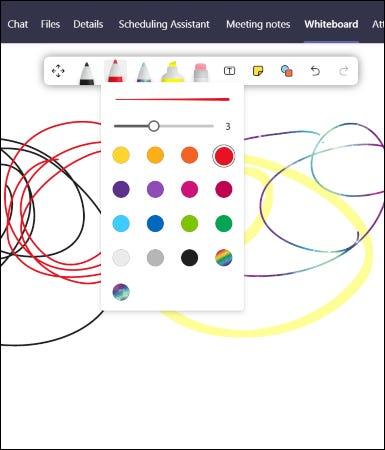 exemplo de desenho de quadro branco